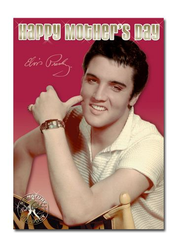 Official Elvis Presley Mother's Day Sound Card now available with Free 1st Class UK Postage from Publishers Danilo.com at http://bit.ly/MotherDayCardsWrap