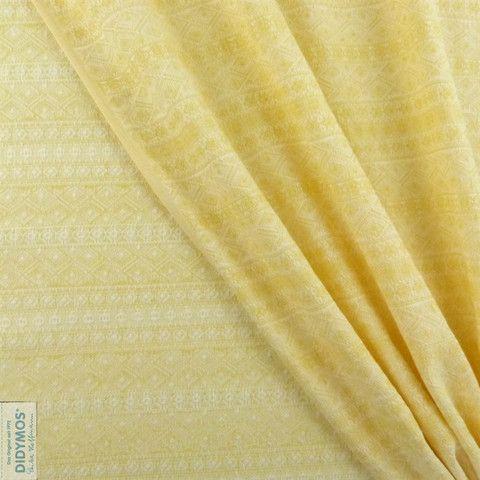 Lemon Nature - Didymos Woven wrap - Indio Limited Edition