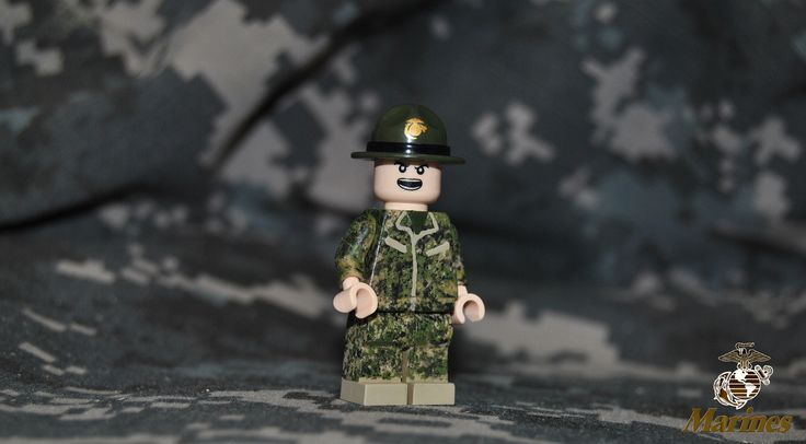https://flic.kr/p/npSeYN | USMC Drill Instuctor | My first attempt at a DI. The marpat is so-so. Good enough for a first attempt at Sponge digi camo. my next attempt will be better ;)   (and lol I couldn't find my MARPAT anywhere so I had to use my dads Navy camo.)  EDIT: fixed the arms and the service/name patches.