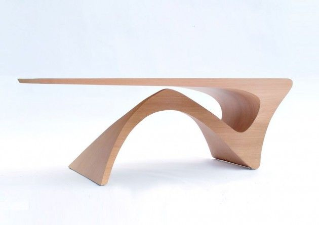 Dutch designer Daan Mulder has created a table, which is part of his Form Follows Function series.