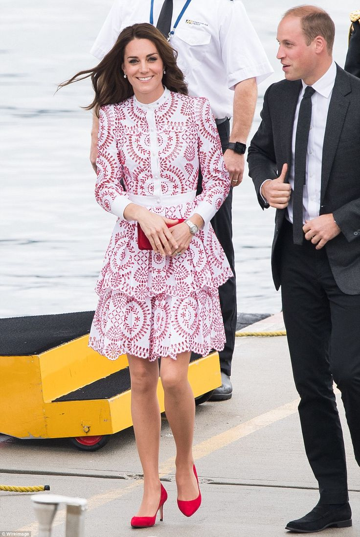 The Duchess of Cambridge, who has long favoured high street brands, has used her recent to...