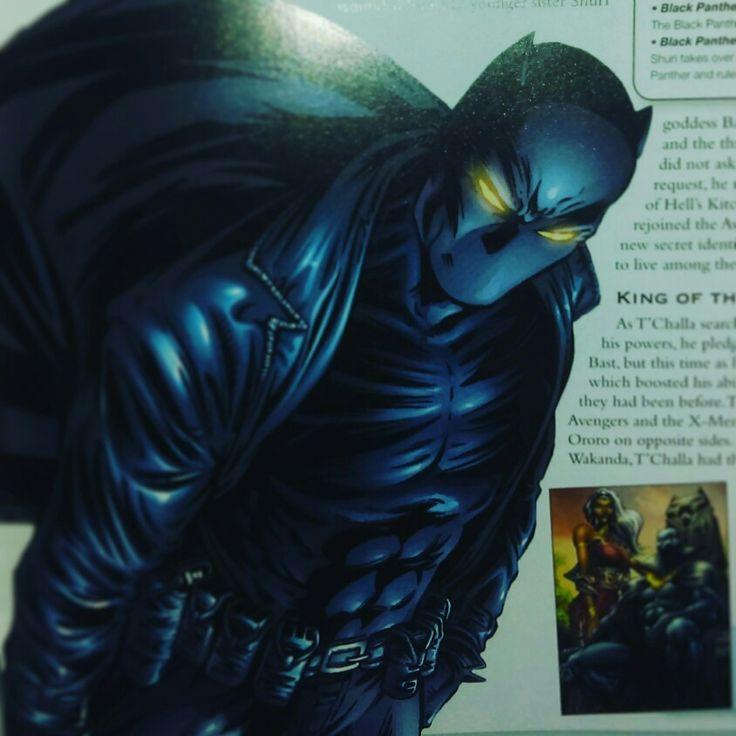 Marvel Black Panther Warrior King of Wakanda.  Fantastic Four, Avengers appearance