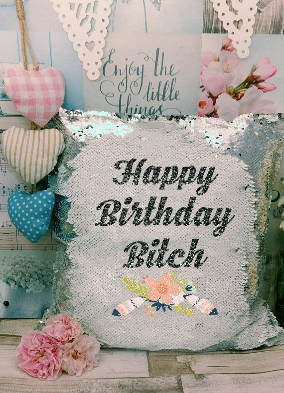 😍 One of the favourites in my shop : Birthday Friend Mature - Sequin Cushion - Bitch Gift - Swear Word - Gift for Friend -  Funny Present - Pillow - Reversable Sequin Mermaid https://www.etsy.com/listing/535655024/birthday-friend-mature-sequin-cushion?utm_campaign=crowdfire&utm_content=crowdfire&utm_medium=social&utm_source=pinterest