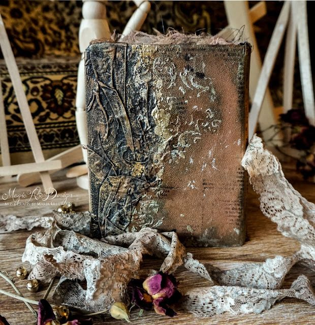 Magical altered book by Maria Lillepruun