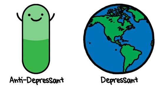 . funny: Life, Mental Health, Funny, Natalie Dee, Truths, Health Humor, Depression, Psychology Humor, The World