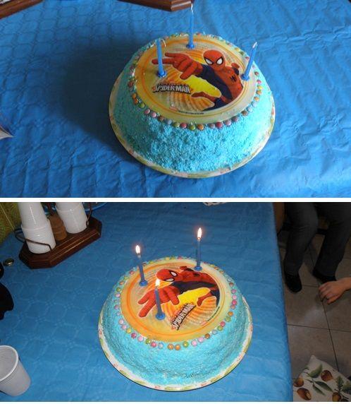Torta per il terzo compleanno del mio nipote Francesco