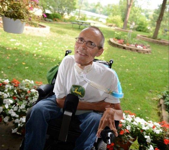 Despite Duchenne Muscular Dystrophy, Robin Hewitt Celebrates His 50th Birthday!