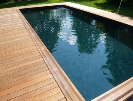 26 best images about piscines on pinterest pool ideas swimming pools and gardens. Black Bedroom Furniture Sets. Home Design Ideas