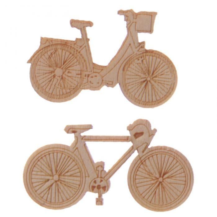 Dřevěné ozdoby Kolo - doplněk pro vaši tvorbu #kolo #doplnky #ozdoba #tvorba #bicycle #craft #giftware