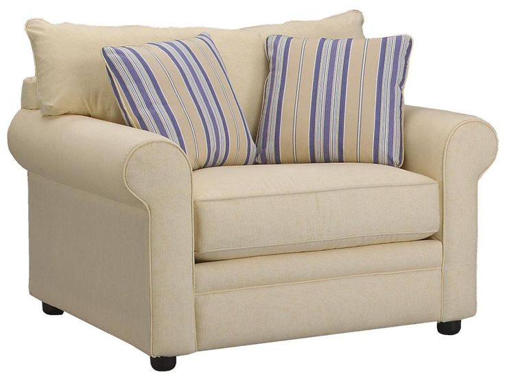 Amazing Comfy Casual Big Chair By Klaussner   Wolf Furniture   Chair U0026 A Half  Pennsylvania,