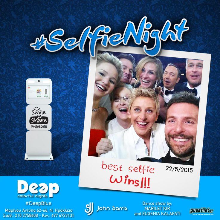 #Selfie #DeepBlue