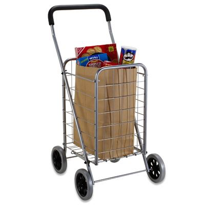 Steel Shopping Cart