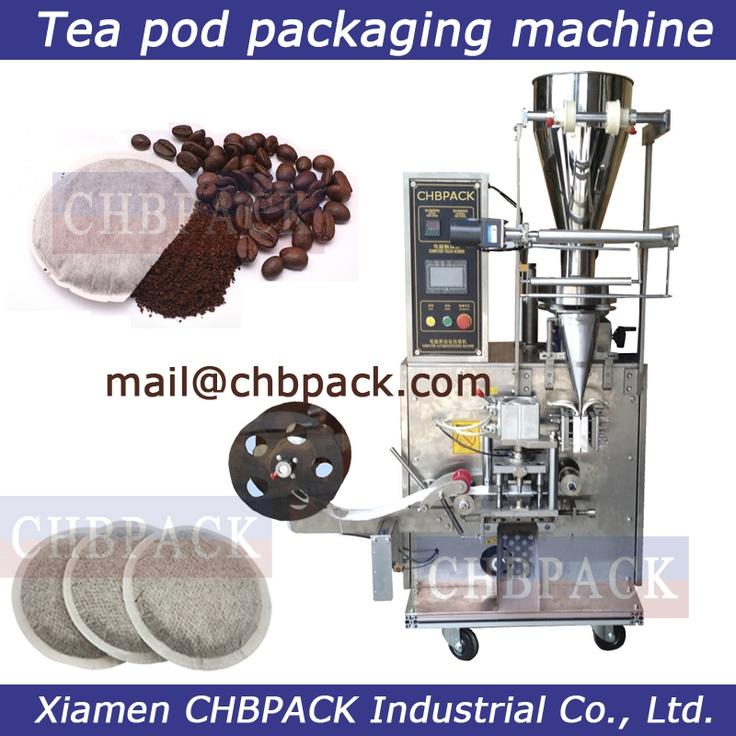 round tea bag packing machine