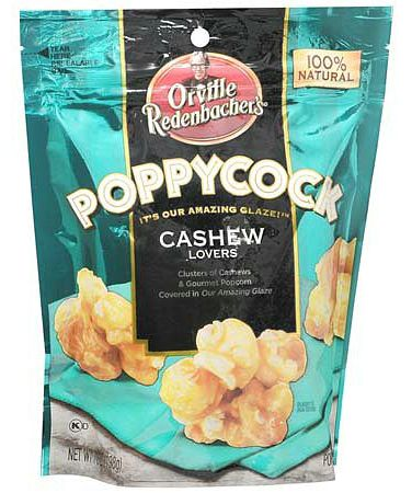 Hungry? Need a little snack while you are watching the NFL games today? Check out this deal on theOrville Redenbacher Poppycock Gourmet Popcorn Snack Cashew Lovers at Walgreens.