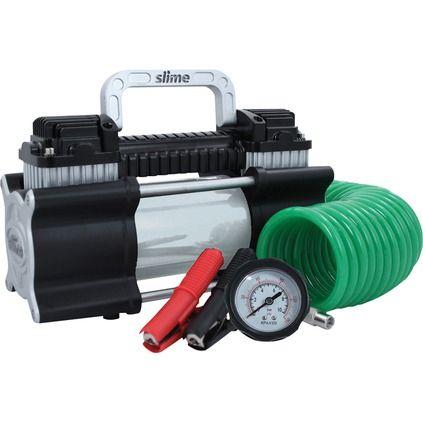 Slime 12 Volt Air Compressor - 2X Pro Series