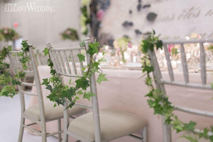 French Garden Wedding With Greenery in Toronto | Elegant Wedding