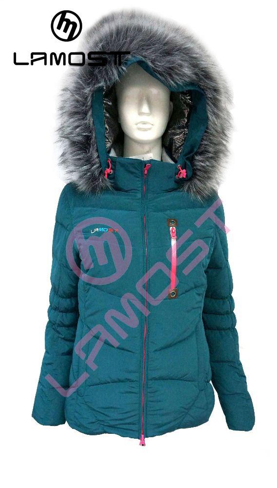 LAMOST  women fashional snow ski wear with hood  womens snowboard women hooded ski jacket snow suit ladies heated jacket