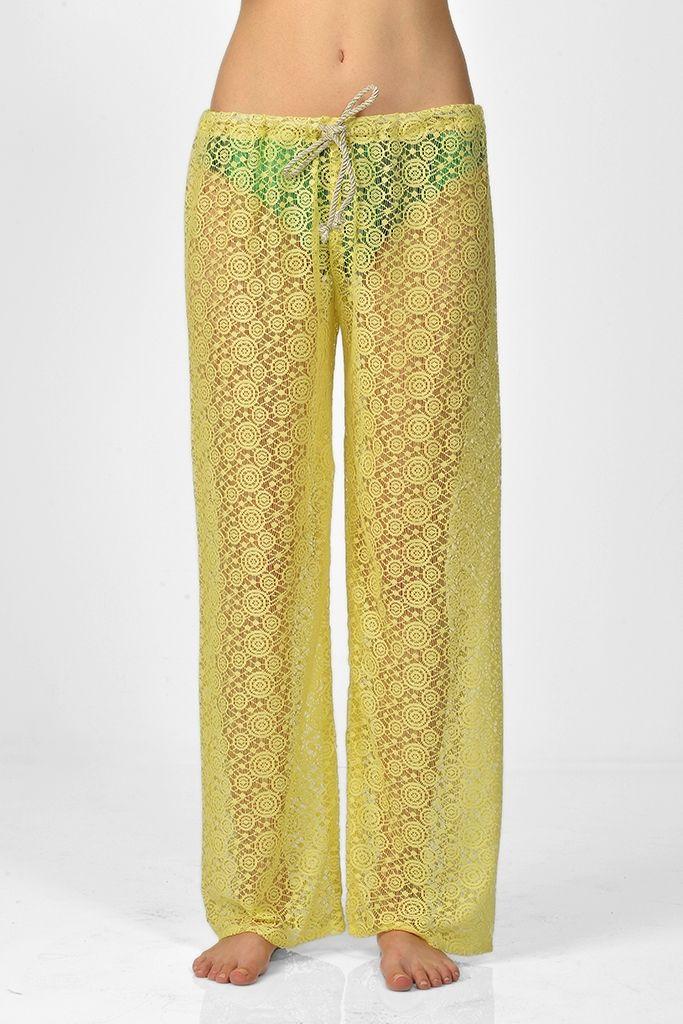 Sanriani Plaj Pantolonları/Behati   Plaj Elbiseleri   Moda Fabrik
