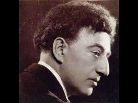 "Schumann-Liszt ""Fruhlingsnacht""  Lhevinne Rec.1935"