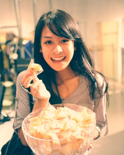 Maudy Ayunda - Indonesian female artist