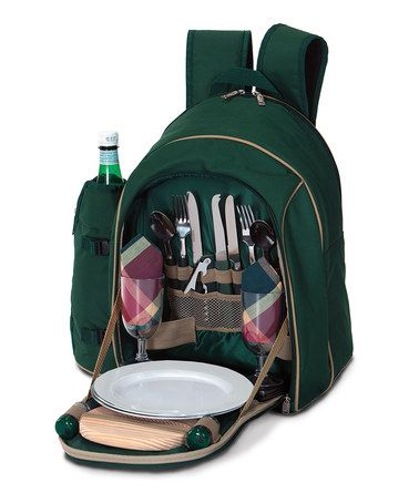 Look what I found on #zulily! Green Endeavor II Picnic Plus Tote #zulilyfinds