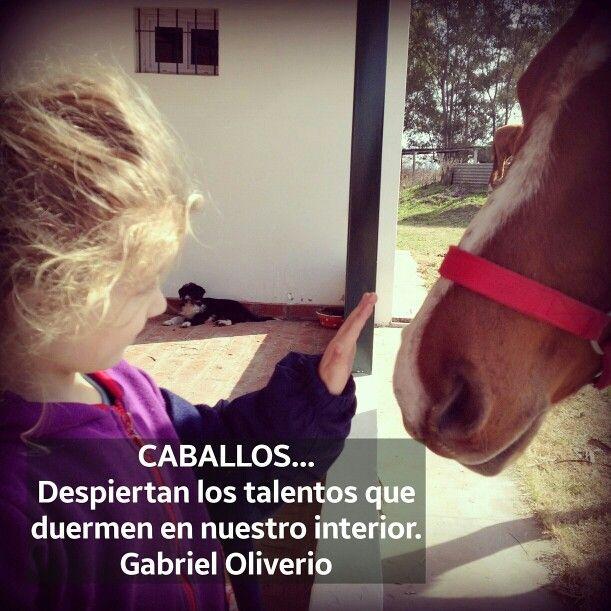 Mi hija con su caballo...