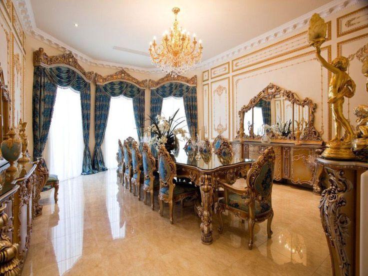 136 Best ~Elegant Dining Rooms~ Images On Pinterest  Dining Best Mansion Dining Rooms Decorating Inspiration