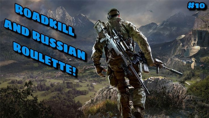 ROADKILL AND RUSSIAN ROULETTE Sniper Ghost Warrior 3 Ep 10
