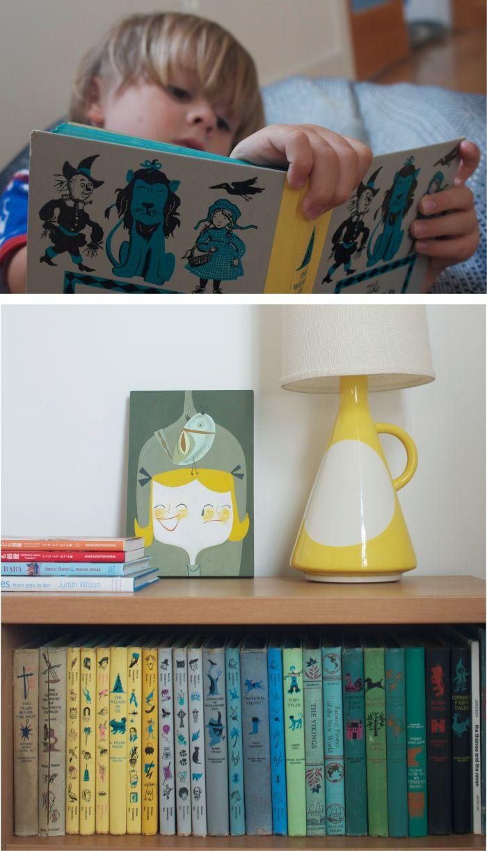 vintage kids' books via one more mushroom