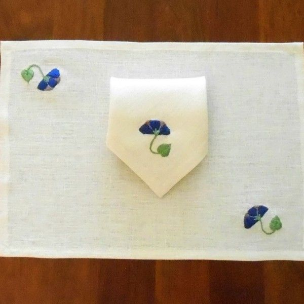 Craftsman Style placemat and napkin