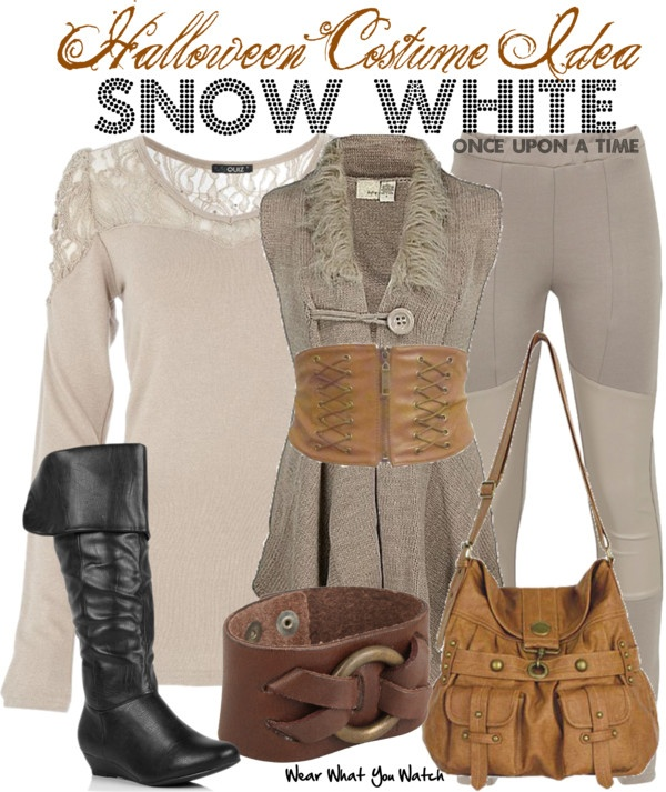Inspired by Ginnifer Goodwin as Snow White/Mary Margaret Blanchard on Once Upon a Time.