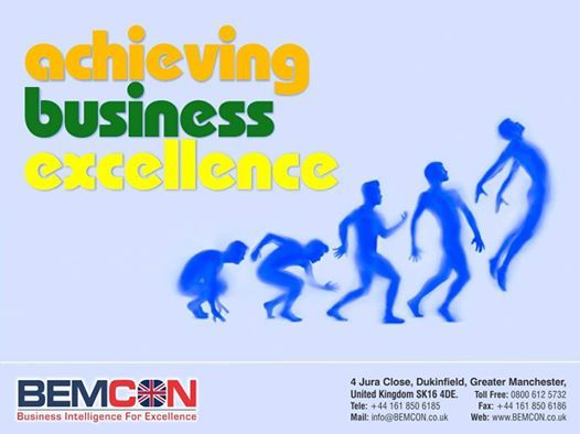 """""""Excellence is a continuous process and not an accident"""" http://bemcon.co.uk/"""