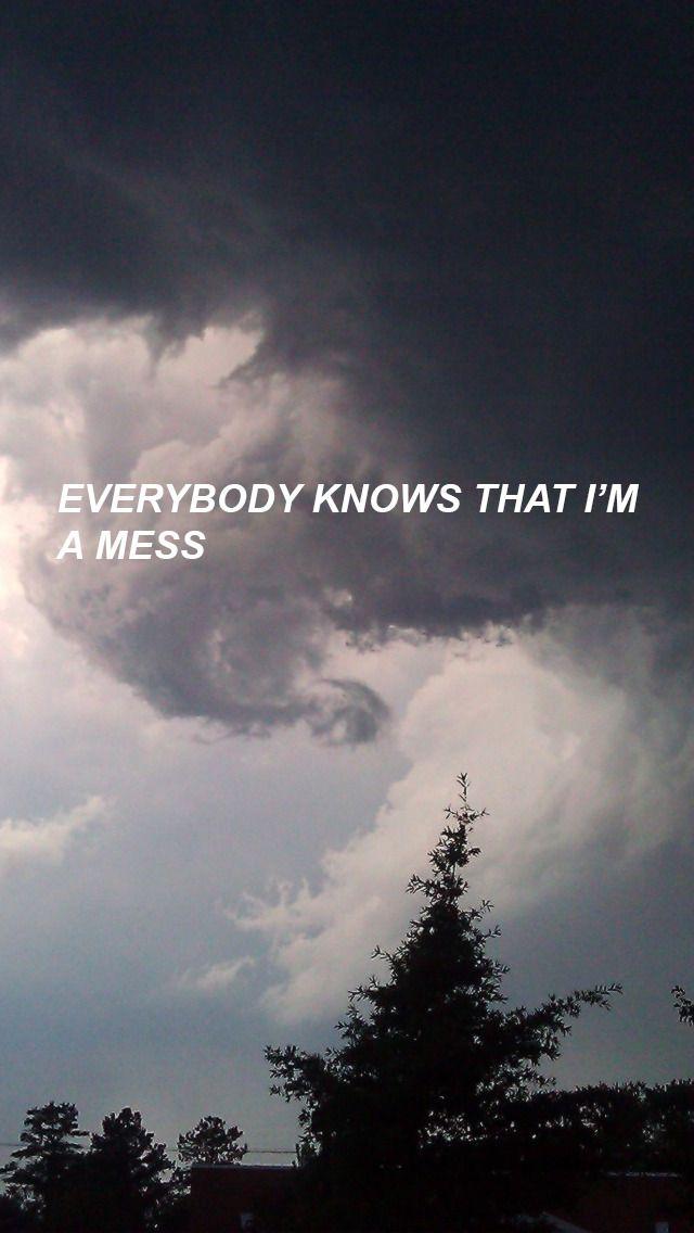 Todo el mundo sabe que soy un desastre