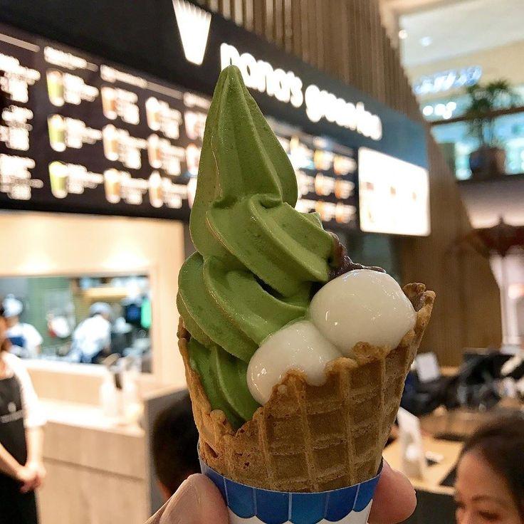 You will definitely love this Matcha Soft Cream with Shiratama Azuki from Nana's Green Tea @nanasgreenteahonolulu in #waikiki #hawaii - #imenehunes #food #foodpics #instafood #greentea #greanteasofticecream #softicecream #delicious #yum #nanasgreenteawaikiki #nanasgreentea