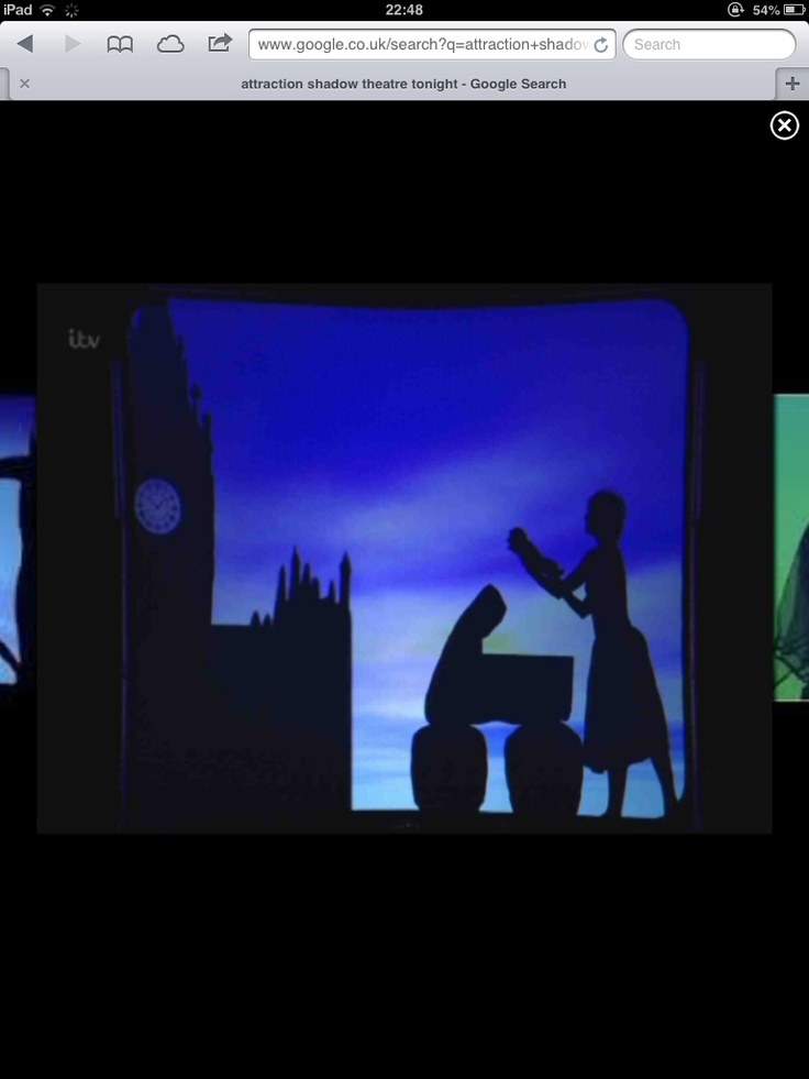 HIStory - Attraction - shadow theatre