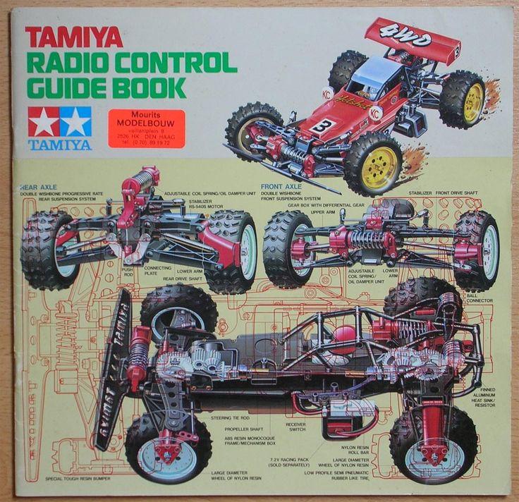 Tamiya catalogue 1985 Radio controlled cars, Radio