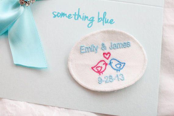 Wedding Gift Ideas Something Blue : Blue Wedding Dress Label Gift for by sunshineandvodka Wedding Ideas ...
