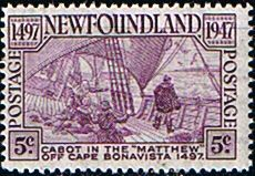 Newfoundland 1947 SG 294 Scott 270 Cabot Fine Mint Other North American and British Commonwealth Stamps HERE!