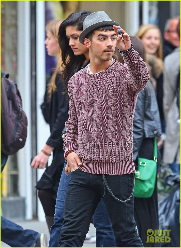Why is any of this happening? That sweater is the worst. I hate this outfit