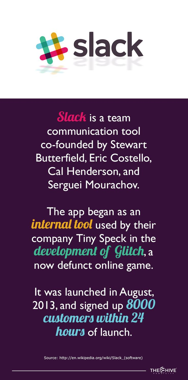 This is the app we actually use at THE HIVE PUBLICITY for our internal messaging.   Since we started using it our communications improved big time.   We recommend it 100% for all businesses or projects that you have.