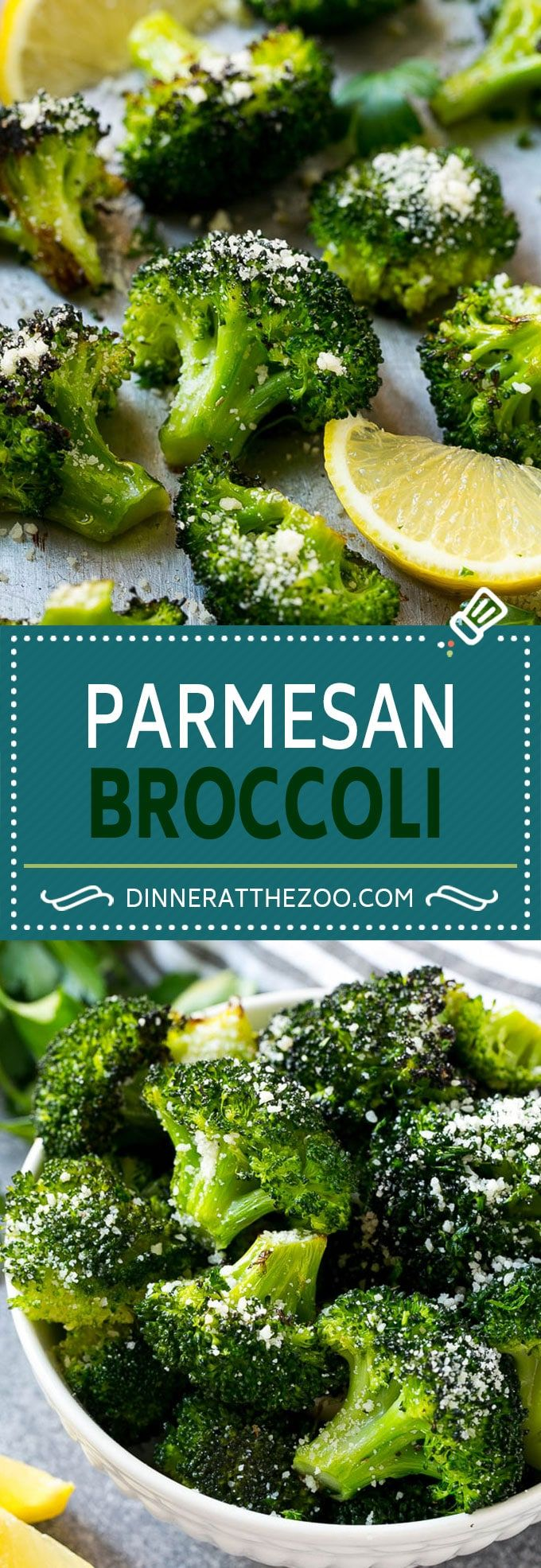Parmesan Roasted Broccoli Recipe | Posted By: DebbieNet.com