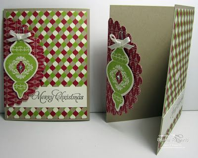 Stampin' Up! Christmas  by Becky Roberts at Inking Idaho: Festival Of Prints