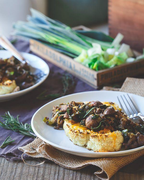 how to cut cauliflower steaks video