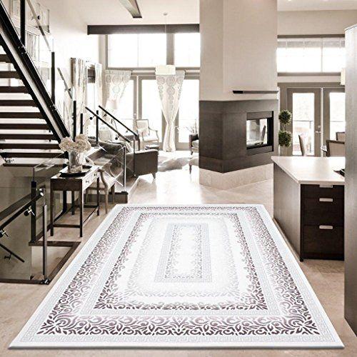 Teppich Wohnzimmer Orient Carpet Klassisches Design SULTANA RUG 80x300 Cm LILA