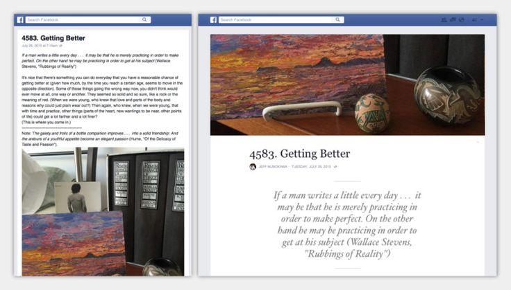 Facebook Notes devient une plate-forme de blog et se met à jour