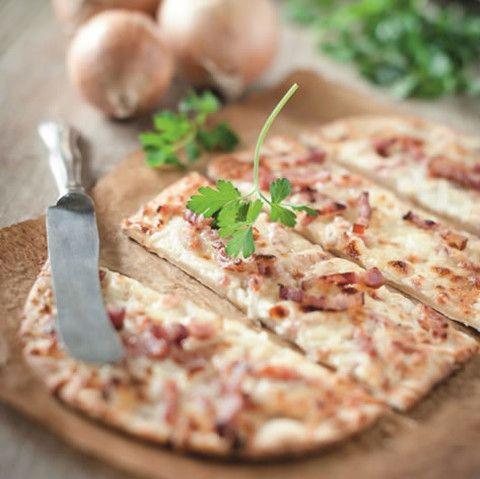 発酵なし!ピザより手軽な「フラムクーヘン」を作ってみない?