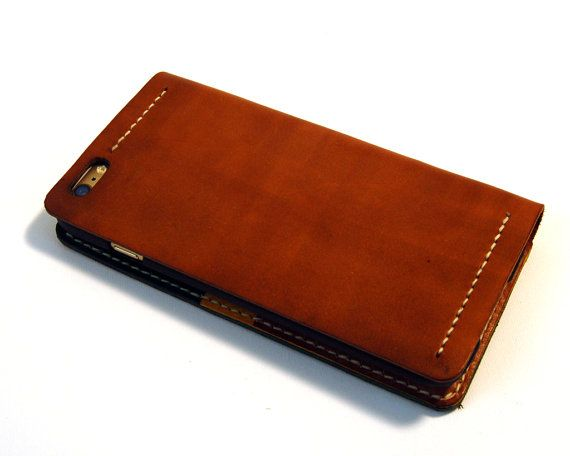 Leather iPhone 6/6s case iPhone 6/6s Plus Case by RitsandRits