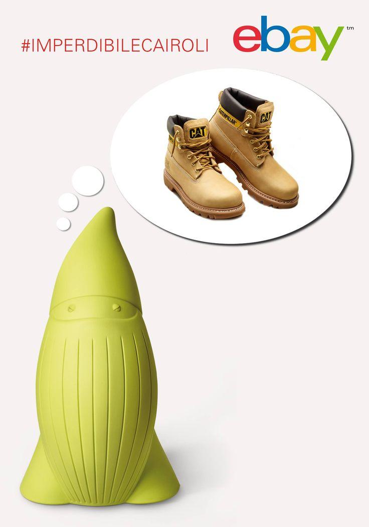 Perché un nano e un paio di scarpe? #ImperdibileCairoli