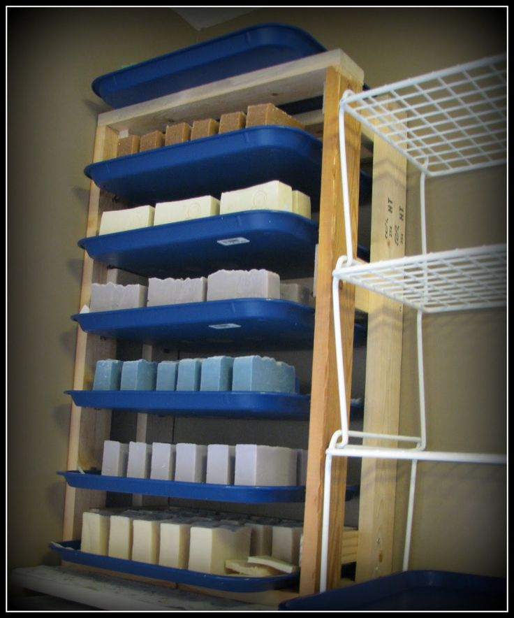 DIY Soap Curing Rack - Ideas to ponder