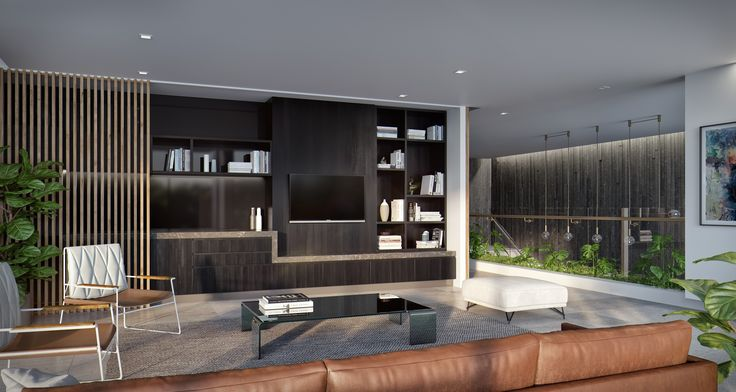 Vantage Dawn | Designed by Ellivo | www.ellivo.com#render #architecture #timber #lighting #leather #design #interior #design
